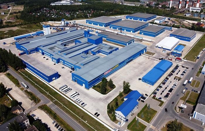 Ступинский завод ячеистого бетона - общий план