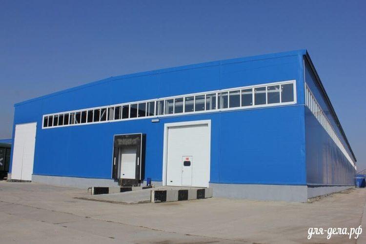 Здание под склад или производство 29. Модуль №1 - Фото 06