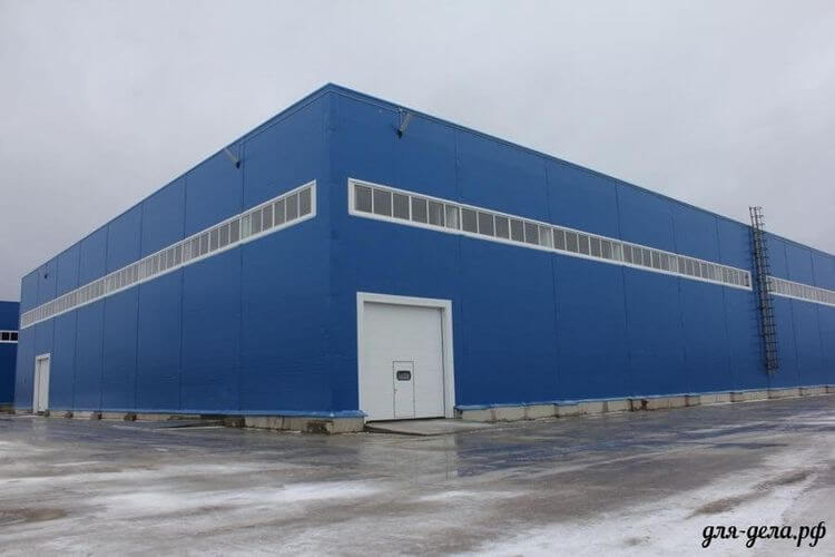 Здание под склад или производство 30. Модуль №2 - Фото 01