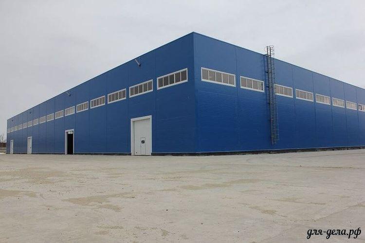 Здание под склад или производство 32. Модуль №4 - Фото 01